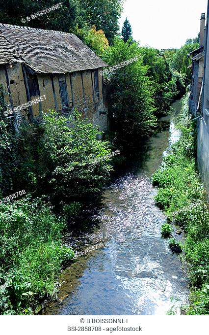 Stream in Gournay-en-Bray, France