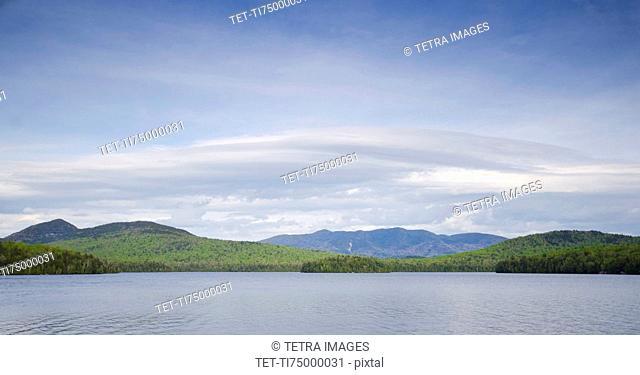 Panorama of Lake Placid