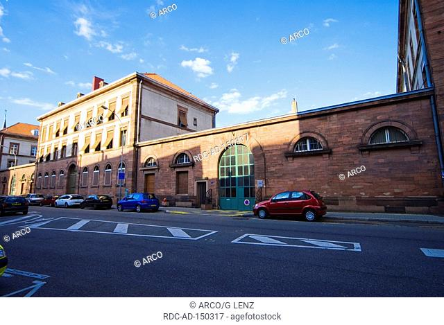Tobacco factory Strasbourg Alsace France Manufacture de Tabac