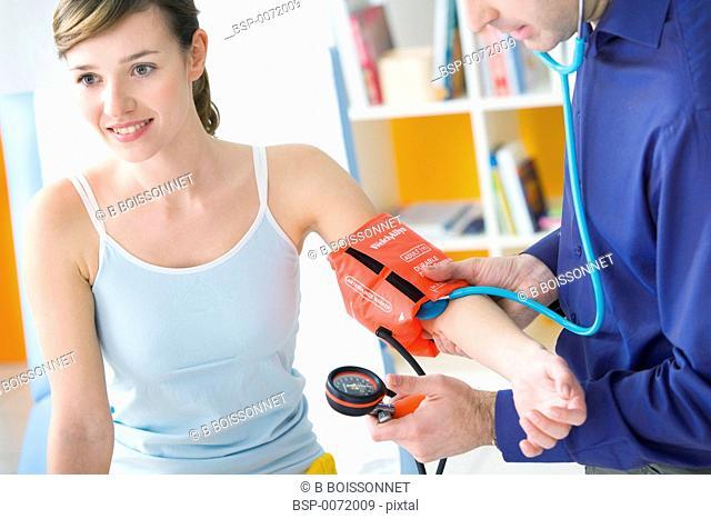 BLOOD PRESSURE, WOMAN Models
