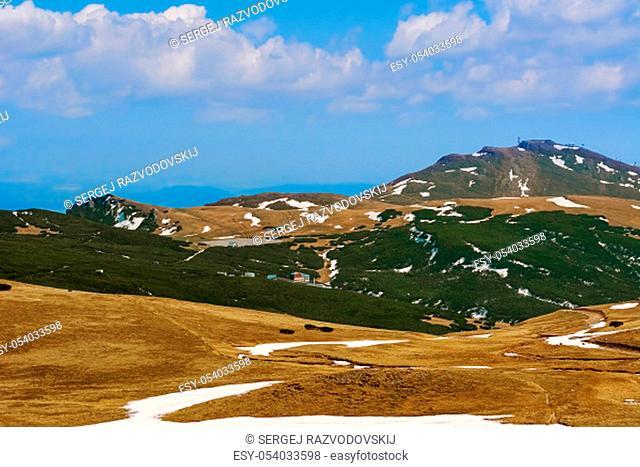 Bucegi Mountains (South Carphatians) in Romania