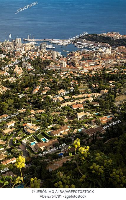 Principality of Monaco. Monte Carlo. French Riviera, Cote d'Azur. Mediterranean Sea, Europe