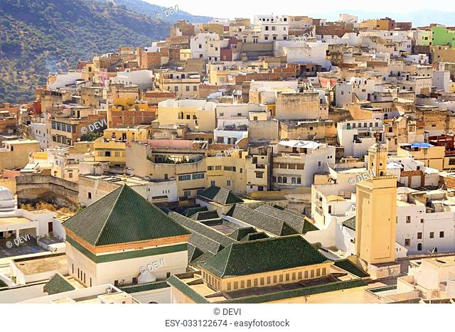 Moulay Idriss is the most holy town in Morocco. It was here that Moulay Idriss I arrived in 789, bringing with him the religion of Islam and starting a new...