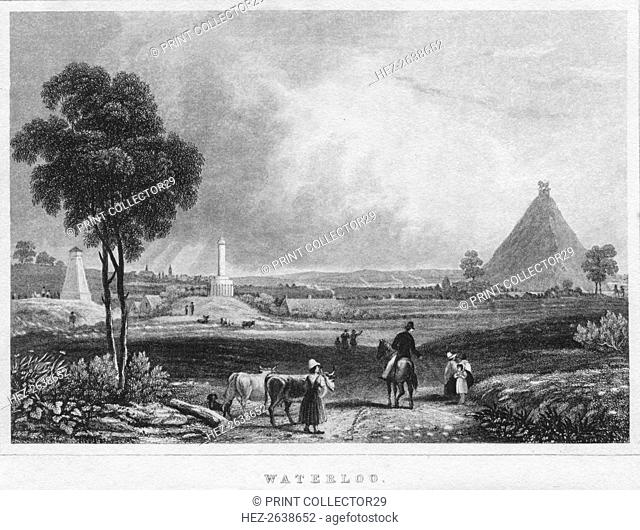 'Waterloo', 1850. Artist: Shury & Son