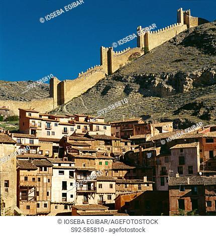 Albarracin. Teruel province. Aragon, Spain