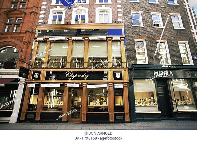 England, London, Mayfair, Old Bond Street