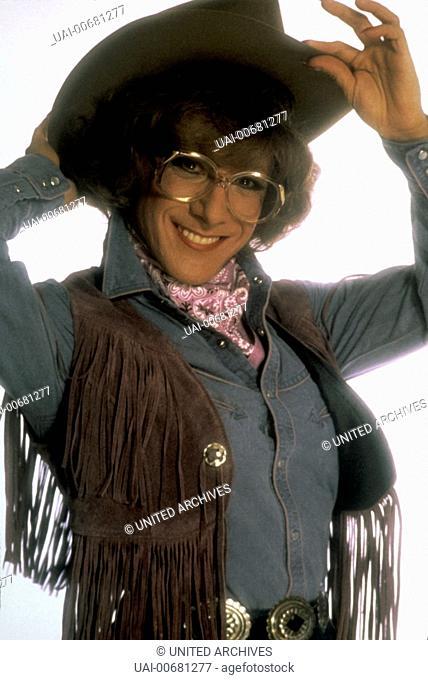 DUSTIN HOFFMAN as Dorothy Michaels Regie: Sydney Pollack / TOOTSIE USA 1982