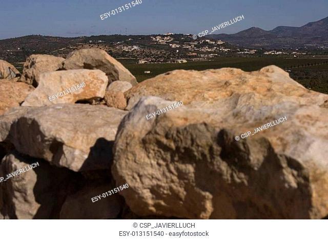 Iberian settlement of Puig de la Na