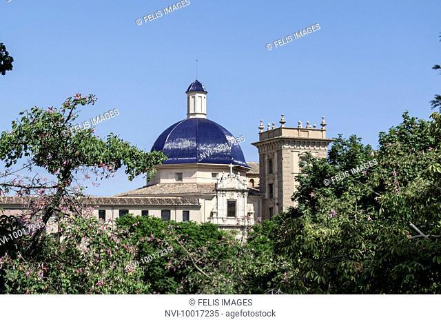 Museo de Bellas Artes, Museum of Fine Arts, Jardines del Turia, City Park, Valencia, Spain