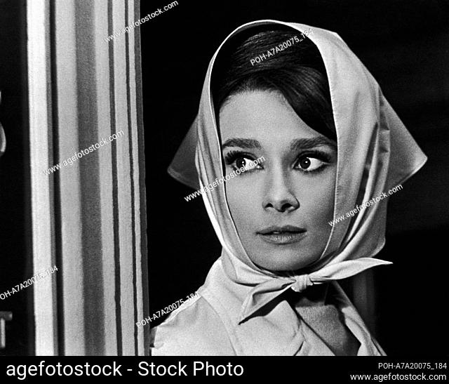 Charade Year : 1963 USA Director : Stanley Donen Audrey Hepburn  Restricted to editorial use. See caption for more information about restrictions