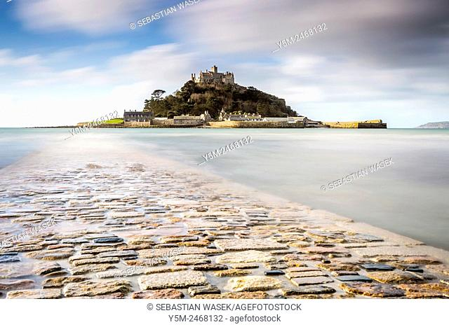 St Michael's Mount, Marazion, Cornwall, England, United Kingdom, Europe