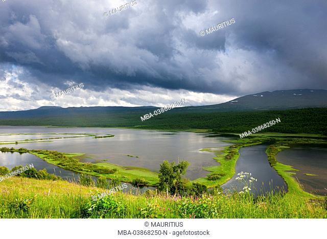 Kultsjön in Lapland