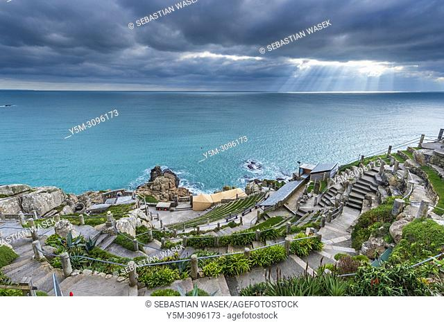 Minack Theatre, Porthcurno, Cornwall, England, United Kingdom, Europe
