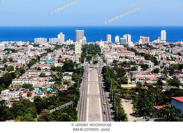 Aerial view of Havana, Cuba