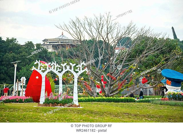 Yuanshan flower expo park