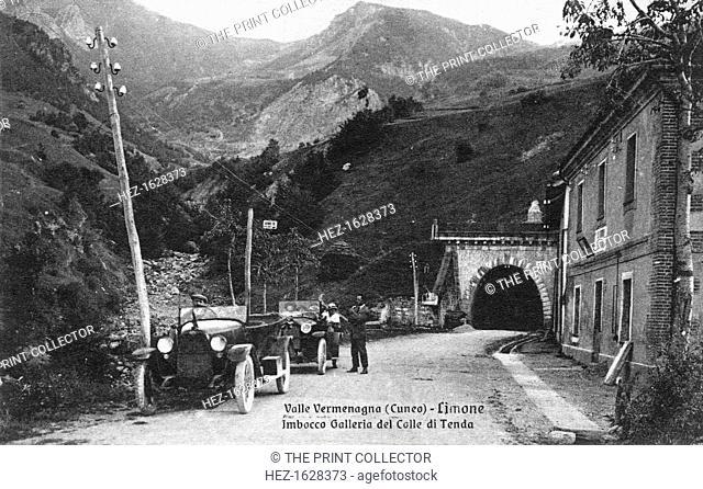 Valle Vermenagna (Cunea) - Limone, 20th Century. Imbocco Galleria del Colle di Tenda