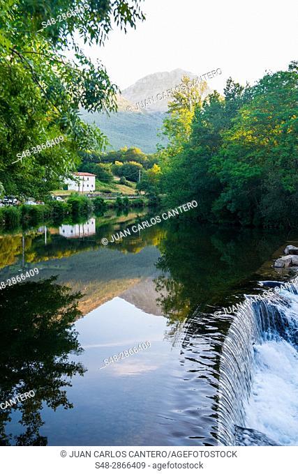 Rio Ason. Cantabria, Northern Spain