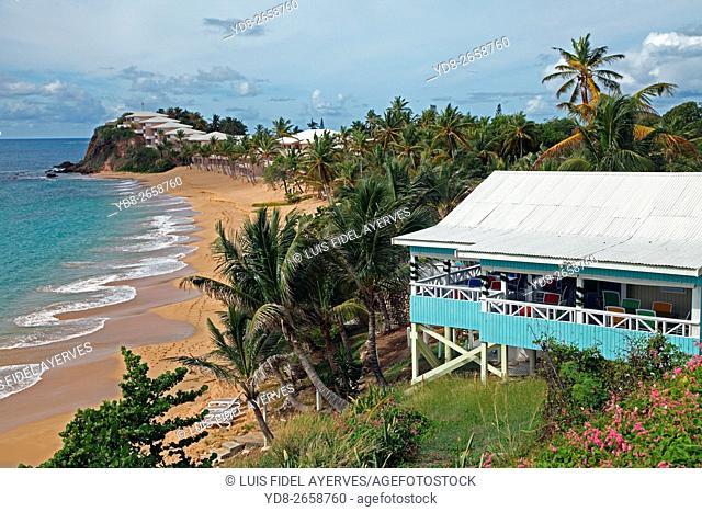 Coast by St. John's, Antigua island, Antigua and Barbuda, Caribbean