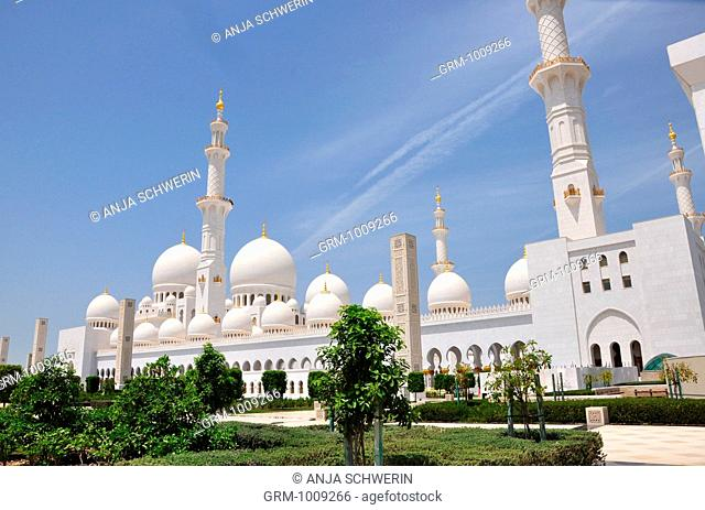 Grand Mosque of Abu Dhabi, United Arab Emirates