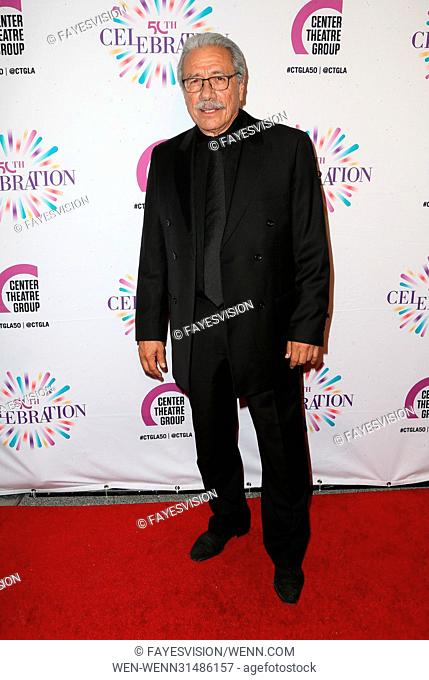 Center Theatre Group's 50th Anniversary Celebration Featuring: Edward James Olmos Where: Los Angeles, California, United States When: 20 May 2017 Credit:...