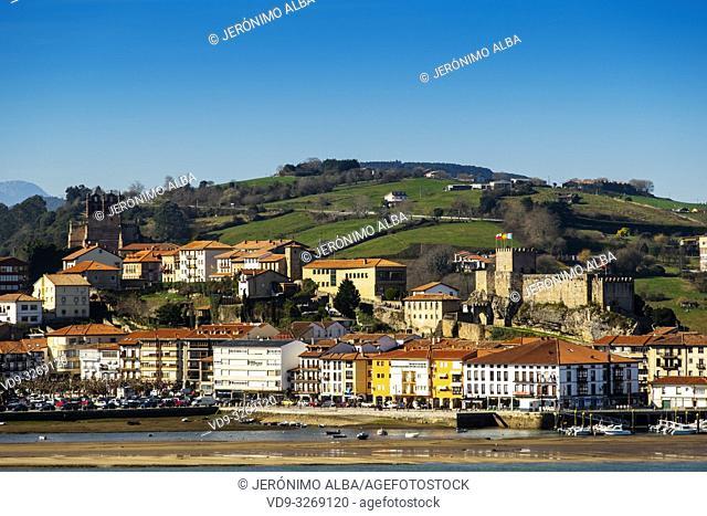 San Vicente de la Barquera. Cantabrian Sea. Cantabria, Spain. Europe