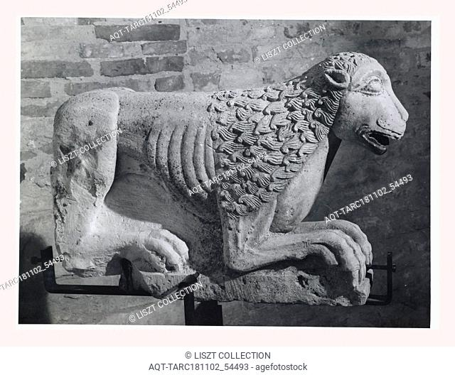 Abruzzo Pescara Penne Palazzo Vescovile, Museo, this is my Italy, the italian country of visual history, Medieval Architecture architectural sculpture detatched...