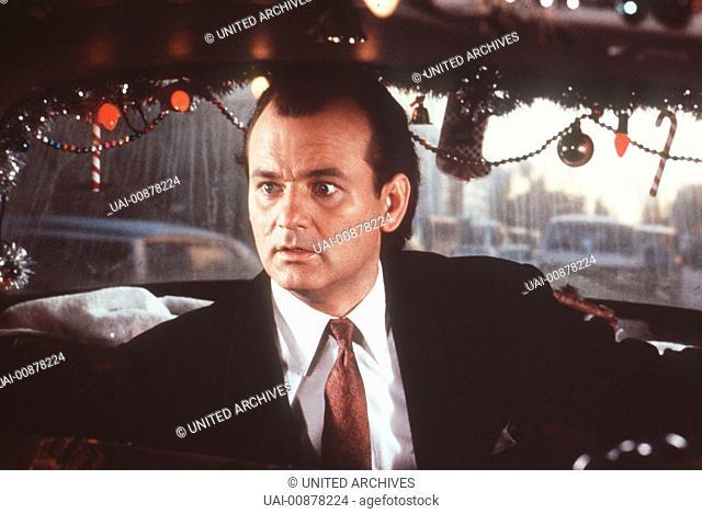 Die Geister, die ich rief - Komödien-Star Bill Murray ist der hartherzige Frank Cross (BILL MURRAY), Präsident einer großen TV-Station