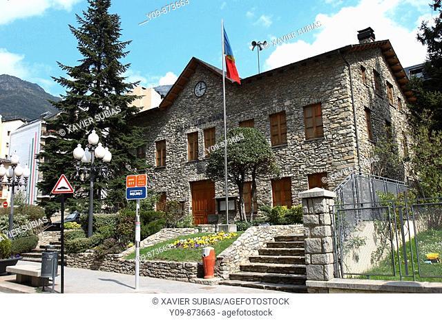 Casa del Comu (town hall), Sant Julia de Loria, Andorra
