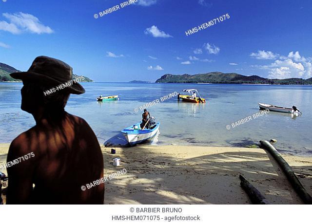 Seychelles, Praslin island, Grand'Anse