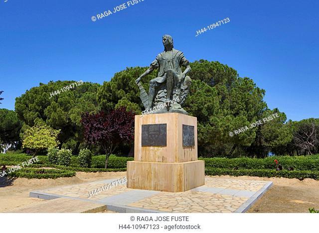 Spain, Europe, Andalucia, Region, Huelva, Province, La Rabida Monastery, Columbus Monument, Huelva, La Rabida, America, Columbus, discovery, history, monastery