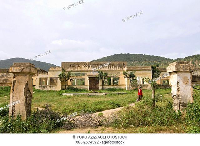 Ali Hasa, Fonte acqua termo minerale, Eritrea