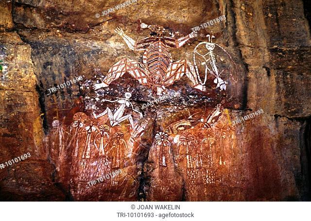 Northern Territory Australia Kakadu Aborigines Cave Paintings