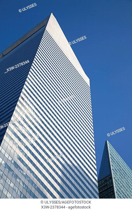 citicorp center, skyscraper, midtown, manhattan, new york, usa, america