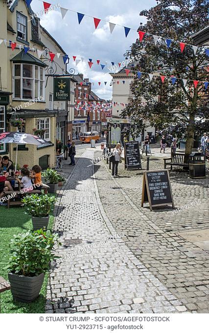 Image of Victoria Square in Ashbourne Derbyshire