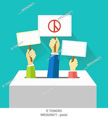Illustration of election