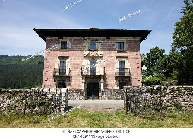 Jarola Palace, Elbete, Baztan Valley, Navarra Nafarroa, Spain España