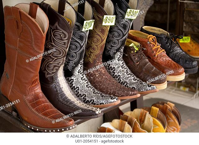 Cowboy boots, Chihuahua, Mexico