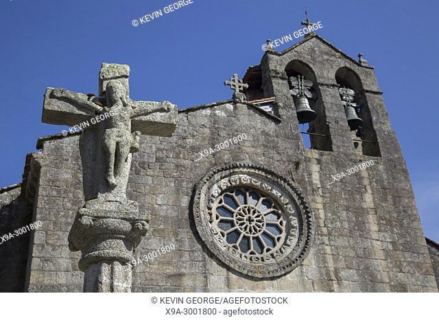 Santa Maria Azogue Church, Betanzos, Spain