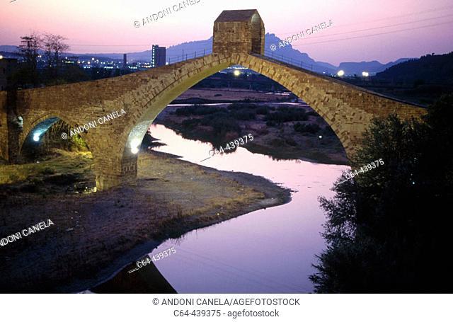 Pont del Diable (Devil's Bridge). Martorell, Barcelona province, Catalonia, Spain