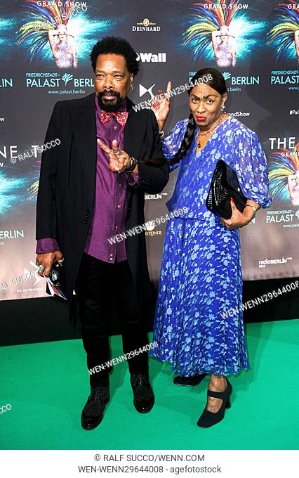 World premiere of 'THE ONE' at Friedrichstadtpalast. Featuring: Boney M. Where: Berlin, Germany When: 06 Oct 2016 Credit: Ralf Succo/WENN.com