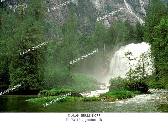 Chatterbox Falls, Princess Louisa Inlet, Sunshine Coast, BC