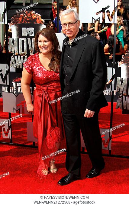 The 23rd Annual MTV Movie Awards at Nokia Theatre on April 13, 2014 in Los Angeles, California. Featuring: Dr. Drew Pinsky,Susan Pinsky Where: Los Angeles
