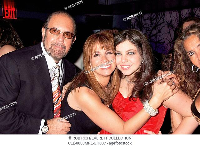 Bobby Zarin, Jill Zarin, Ali Zarin at arrivals for The Real Housewives of New York City Screening Party, Touch, New York, NY, March 03, 2008