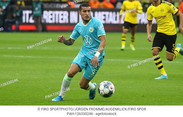 firo: 02.11.2019, Football, Football: 1.Bundesliga: BVB Borussia Dortmund - VfL Wolfsburg 3: 0 William, single action | usage worldwide