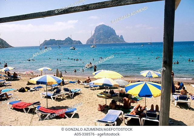 Cala d'Hort. Ibiza. Balearic Islands. Spain