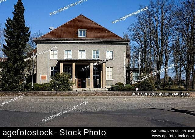 05 April 2020, Berlin: The German-Russian Museum in the Waldowallee in Berlin Karlshorst. On 8 May 1945, the capitulation of the German Wehrmacht in...
