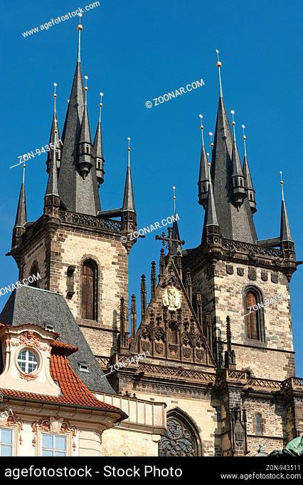 Teynkirche, Prag, Tschechien | Teyn church, Prague, Czech Republic