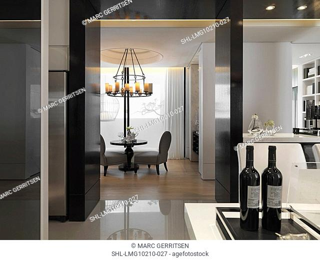 Interior of apartment style home