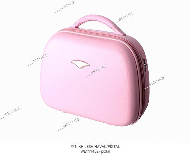 Pink vanity bag