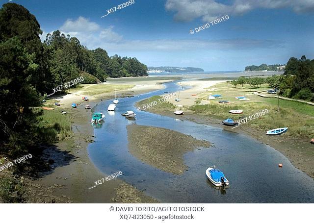 Ria, Galicia, Spain